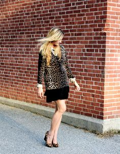Date night in leopard