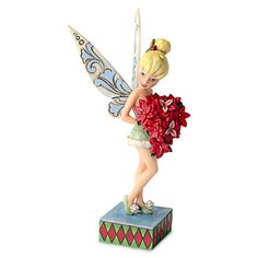 Holiday Tinker Bell Figure by Jim Shore | Tinker Bell & Fairies | Collectibles | Disney Store | $39.50