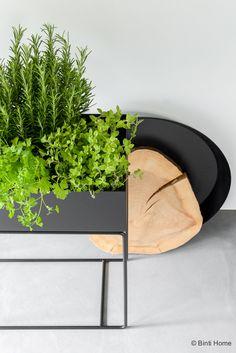 Plantenbak verse kruiden Ferm Living in de keuken inrichting ©BintiHome