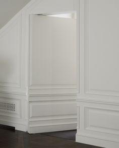 Moulding - fun idea for hall and our master bedroom door