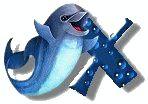 Alfabeto de delfines. | Oh my Alfabetos!