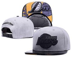 http://www.yjersey.com/nba-lakers-team-logo-grey-adjustable-hat-sd.html #NBA #LAKERS TEAM LOGO GREY ADJUSTABLE HAT SDOnly$42.00  Free Shipping!