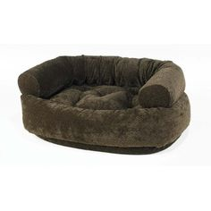 Double Donut Micro-Velvet Dog Bed * Special dog product just for you. See it now! : dog beds