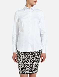 Long-Sleeve Button Down Shirt - The Limited
