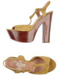 L'Autre Chose Green Sandals - Lyst