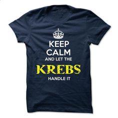 KREBS - KEEP CALM AND LET THE KREBS HANDLE IT - #sweatshirt redo #cat sweatshirt. GET YOURS => https://www.sunfrog.com/Valentines/KREBS--KEEP-CALM-AND-LET-THE-KREBS-HANDLE-IT-51804721-Guys.html?68278