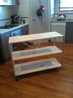 Easiest Industrial Cart | Do It Yourself Home Projects from Ana White