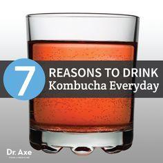 7 Reasons to Drink Kombucha Everyday http://draxe.com/7-reasons-drink-kombucha-everyday
