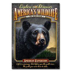 American Expedition Bear Tin Cabin Sign American Expedition http://www.amazon.com/dp/B00KCBTN9Q/ref=cm_sw_r_pi_dp_.LS6ub1RAXVAB