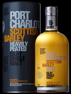 PEATED TO A HEAVYWEIGHT 40PPM, PORT CHARLOTTE SCOTTISH BARLEY IS A CUVEE CRAFTED FROM CASKS HAND-PICKED BY MASTER DISTILLER JIM MCEWAN - A UNION OF THE CLASSIC FLORAL ELEGANCE OF BRUICHLADDICH AND HEAVY PEAT.  This whisky is testament to our belief that raw ingredients matter. Trickle distilled from 100% Scottish Barley the spirit gently matures in the lochside village of Port Charlotte before being bottled here at the distillery using Islay spring water.