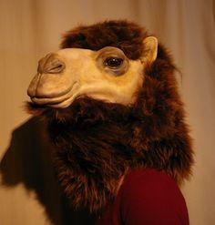 a camel mask by lizthompson.deviantart.com on @deviantART