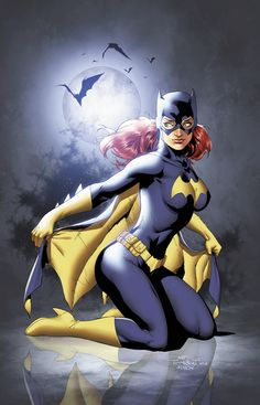 The Very Best of Women in Comics — Barbara Gordon as Batgirl by Art Thibert Marvel Dc Comics, Dc Comics Girls, Dc Comics Art, Dc Comics Superheroes, Marvel Avengers, Comic Book Characters, Comic Character, Comic Books Art, Comic Art