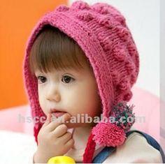 赤ん坊の帽子のかぎ針編みの帽子kniited綿の帽子の子供は帽子の赤ん坊のkidcatをかぎ針で編む-子供用帽子、キャップ-製品ID:615325847-japanese.alibaba.com