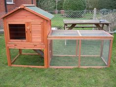 Rabbit Hutch Plans With Wire Fence