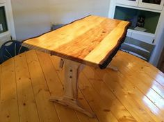 Trestle drawing table