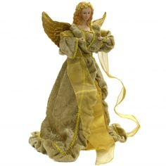 What a glorious Angel Tree Topper!