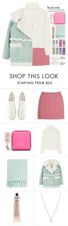 """""""beloved // 5k"""" by taxicabs ❤ liked on Polyvore featuring H&M, Versace, Acne Studios, Proenza Schouler, Surya, Grown Alchemist, Laura Lee Jewellery, women's clothing, women and female"""