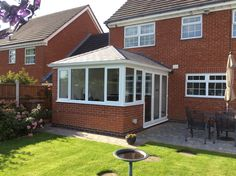 Transform your conservatory with a Tiled Roof Replacement from Abbey & Burton Glass. Warm Roof, Roofing Systems, Conservatory, Shed, Outdoor Structures, Gallery, Roof Rack, Winter Garden, Greenhouses