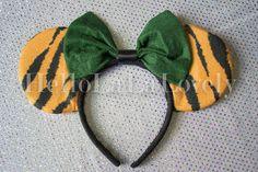 Animal Ears!      Accessories animal kingdom disney ears minnie ears mickey ears minnie mouse ears mickey mouse ears tiger disney ears tiger minnie ears tiger mickey ears animal ears animal disney ears #hellolalalovely