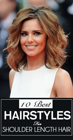 Stylish hairstyles for medium hair are a plenty! But here is the list of the top 10
