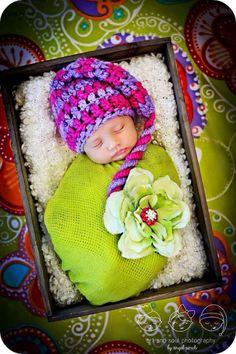 Newborn Baby Girl Photo Prop Elf Hat by MitziKnitz on Etsy  25.00   newbornbabyphotography  newborn f611a7e921c