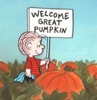 great pumpkin as shared by Anna Plumey. Who's not looking forward to Charlie Brown specials?