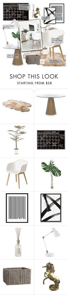 """HOME DECOR"" by justonegirlwithdreams ❤ liked on Polyvore featuring interior, interiors, interior design, home, home decor, interior decorating, UGG, Mitchell Gold + Bob Williams, Bella Loco and PBteen"