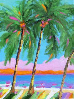 My Creative Life: Art for the Beach Side KAREN FIELDS