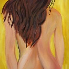 After bathing - Babetts Bildergalerie - The picture was painted with acrylic on canvas. body Wrapped woman eroticism After bathing Canvas Print Body Wraps, Brushed Metal, Floating Frame, Stretched Canvas Prints, Canvas Artwork, Wood Print, Wall Murals, Bathing, Drawings