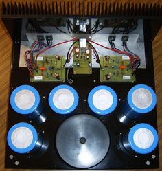 Jean Hiraga's Super Class-A Amplifier Hifi Amplifier, Audiophile Speakers, Loudspeaker, Hobby Electronics, Electronics Projects, Speaker Box Design, Electronic Schematics, Circuit Diagram, Electrical Engineering