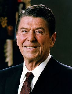"""40th - Ronald Wilson Reagan   (January 20, 1981 to January 20, 1989)  Nicknames: """"The Gipper""""; """"The Great Communicator""""; """"Dutch""""  Born: February 6, 1911, in Tampico, Illinois Died: June 5, 2004, in Los Angeles, California"""