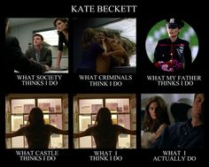 Beckett... I'd like to see one of these for Castle.