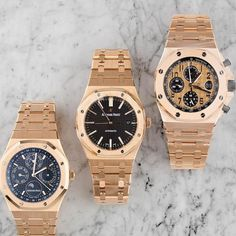 THE GOLDEN BOYS by Audemars Piguet.