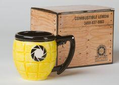 Portal 2 Lemon Grenade Mug: Amazon.co.uk: Kitchen & Home