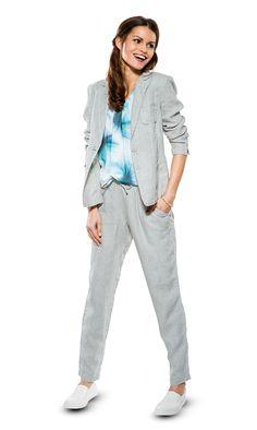 #awg #leinen #blazer #hose #leinenblazer #leinenhose #fruhling #chiffon #top #outfit