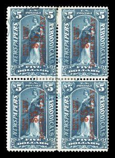 $5 USA stamps