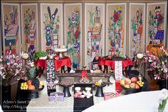 Korean traditional B-day table 시돌이네 Korean Birthday, Korean Traditional, Table, Kids, Young Children, Boys, Tables, Children, Desk