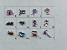 NEW #floating #charms, pick one,  View more on the LINK: 	http://www.zeppy.io/product/gb/3/219575902/