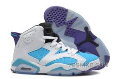 http://www.yesnike.com/big-discount-66-off-girls-air-jordan-6-retro-white-blue-purple-for-sale-online-rnjph.html BIG DISCOUNT! 66% OFF! GIRLS AIR JORDAN 6 RETRO WHITE BLUE PURPLE FOR SALE ONLINE RNJPH Only $92.00 , Free Shipping!