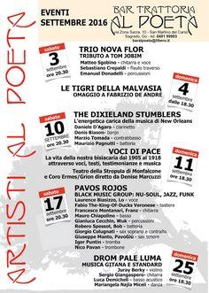 Buon giorno! Ecco il nostro calendario eventi del mese di settembre!  http://www.alpoeta.it