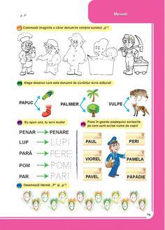 Clasa pregatitoare : Comunicare in limba romana - Clasa Pregatitoare Kids Education, Kindergarten, Map, School, Children, Food, Early Education, Young Children, Boys