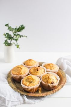 Cranberry Cashew Muffins | The Hedgecombers