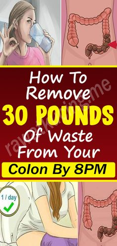 It's almost hard to believe that pounds of waste could be stuck in your colon, but it turns out that the colon is a pretty big place. At least once a year we recommend a flush of the colon such as this one for optimal health. Health And Wellness Quotes, Health And Fitness Tips, Health And Wellbeing, Fitness Nutrition, Health Diet, Health And Nutrition, Health Benefits, Wellness Fitness, Natural Remedies For Migraines