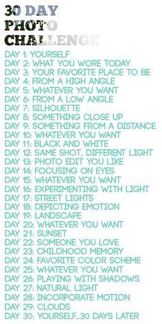 Will start tomorrow. :)