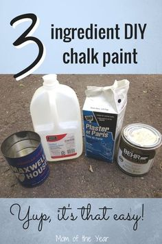 Have a piece of furniture in your home that you'd like to give a new look to, but don't have a ton of money to spend? Check out this easy DIY method to make your own chalk paint--and use it! You'll love the results and be so surprised at how easy it easy. Plus this trick for finishing the product off gets you STUNNING results!