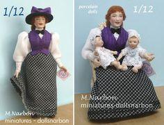 1/12 scale porcelain dolls http://www.etsy.com/listing/97175290/sra-joven-trabajadora-muneca-original-de?ref=shop_home_active