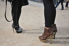 Paris Fashion Week #StreetStyle #Fashion #PFW #ParisFashionWeek #Shoes