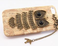 charm phone cases for iphone 4s 5svintage tree wood by lovesanrens, $9.90
