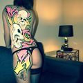 Pictures Of Art On Body Painting - Street-art and Graffiti | FatCap