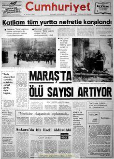 Cumhuriyet gazetesi 25 aralık 1978